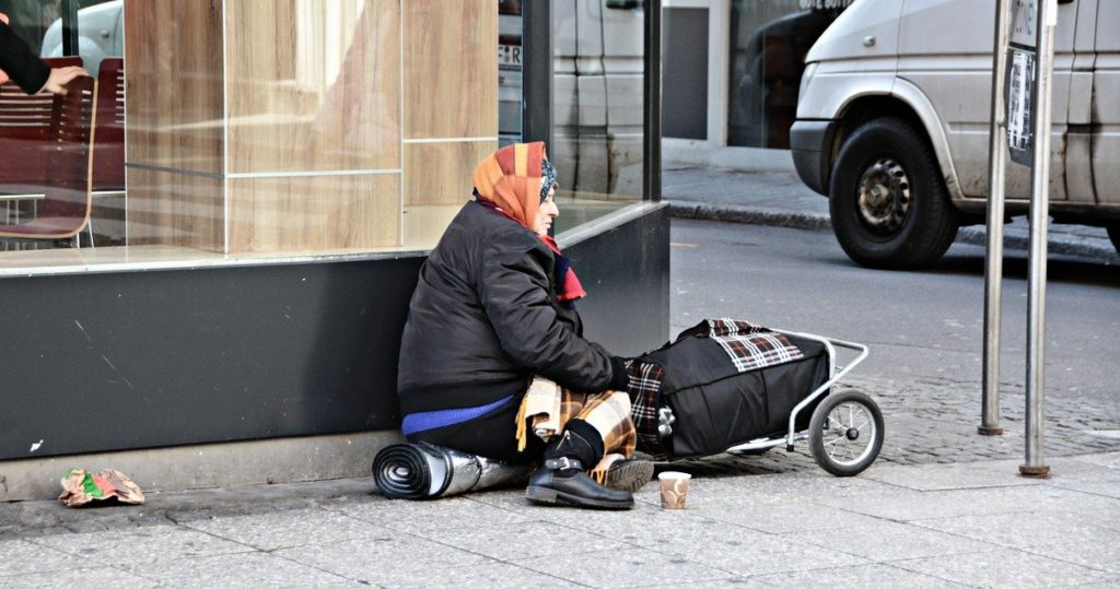 Obdachlos(e) in Deutschland
